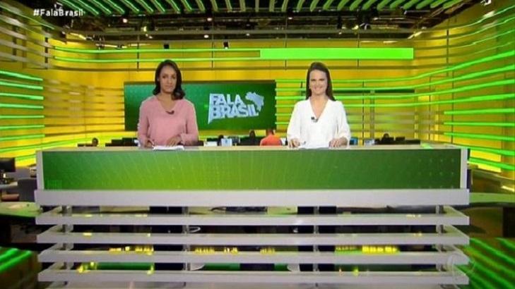 Após críticas, Record faz ajustes no novo cenário do Fala Brasil