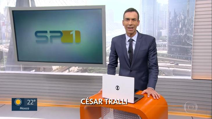 "César Tralli no ""SPTV"""