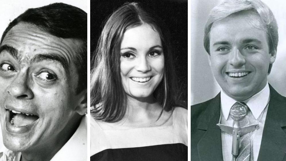 Chico Anysio, Regina Duarte e Gugu e Silvio Santos