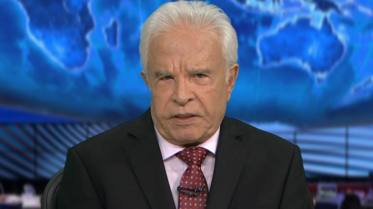 Cid Moreira foi o primeiro apresentador do Jornal Nacional