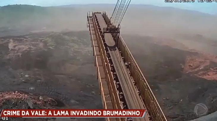 Record TV sobe o tom no caso Brumadinho e trata tragédia como crime