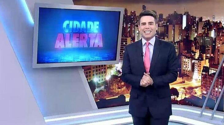 """Reinaldo Gottino é cotado para assumir \""""Cidade Alerta\"""" em férias de Luiz Bacci"""