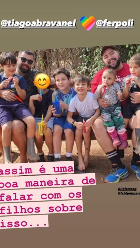 Cíntia Abravanel responde a irmã Patrícia com foto sobre fala homofóbica