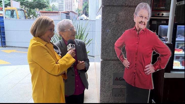 Palmirinha Onofre faz 88 anos e ganha homenagem de Claudete Troiano na TV Aparecida