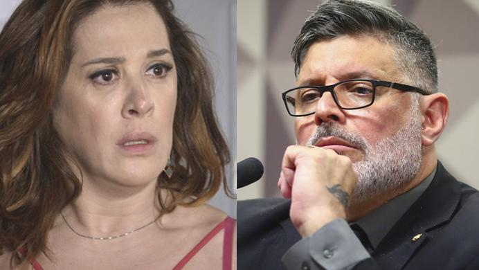 Claudia Raia e Alexandre Frota