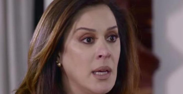 A atriz Claudia Raia