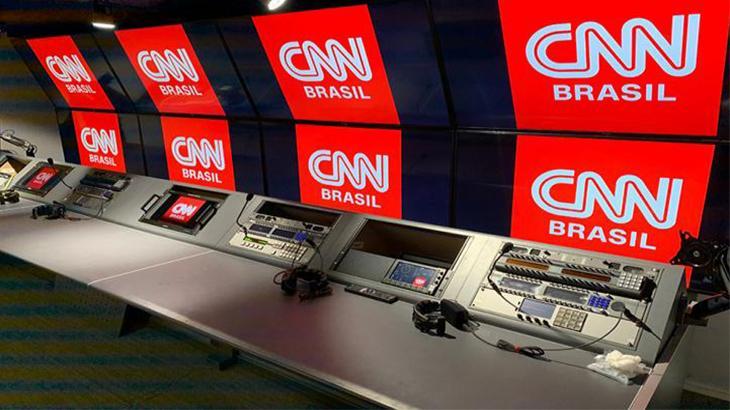 Sala de comando da CNN Brasil