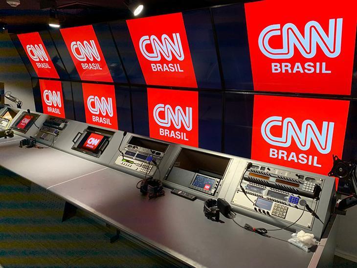 Estúdio da CNN Brasil