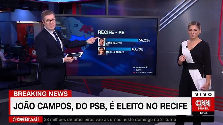 GloboNews muda, melhora e equilibra forças com a CNN no segundo turno