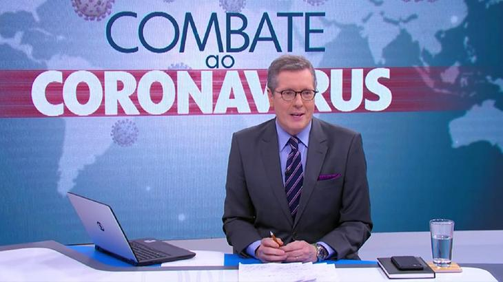 Coronavírus: Globo suspende rodízio no JN e define medidas de segurança aos jornalistas
