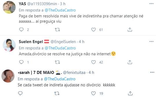 """Ex detona Biel nas redes sociais e faz cobrança: \""""Não assina o divórcio\"""""""