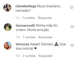 """Antonio Fagundes é vacinado contra Covid-19: \""""Que o resto do Brasil também possa\"""""""