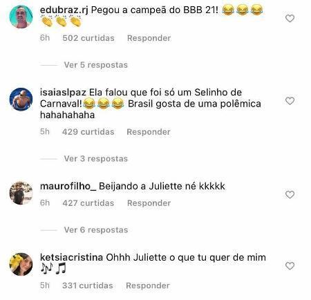 """BBB21: Thiago Rodrigues declara torcida para Juliette e ex-mulher dispara: """"Corra, Ju!"""""""