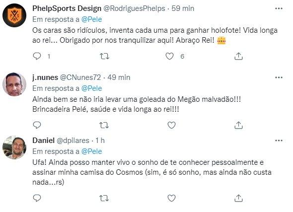 Pelé é internado em São Paulo e estado de saúde é revelado