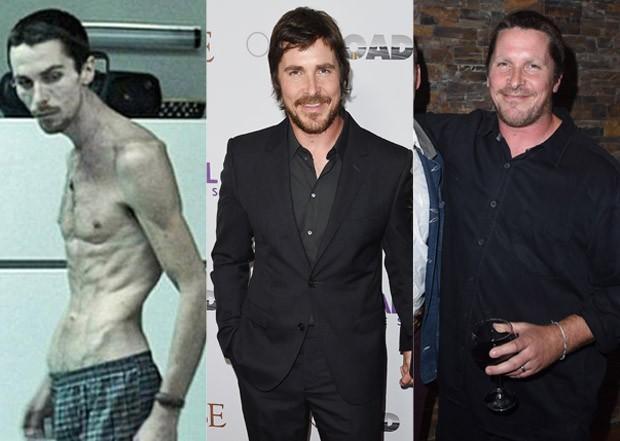 """Christian Bale aparece mais \""""rechonchudo\"""" e surpreende; veja comparação"""