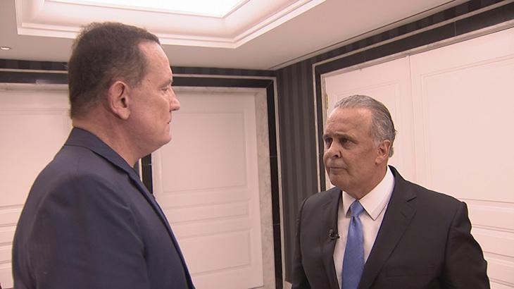 Roberto Cabrini exibe longa entrevista com o médico Lair Ribeiro