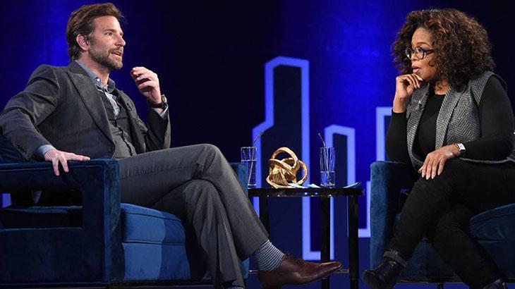 Bradley Cooper e Oprah Winfrey