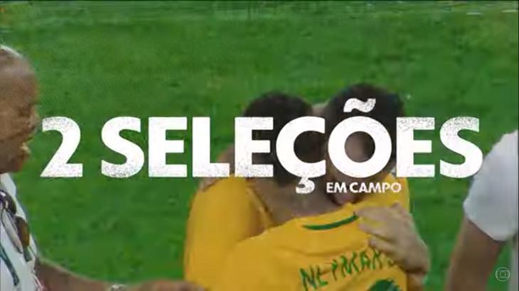 Renato Augusto abraçando Neymar