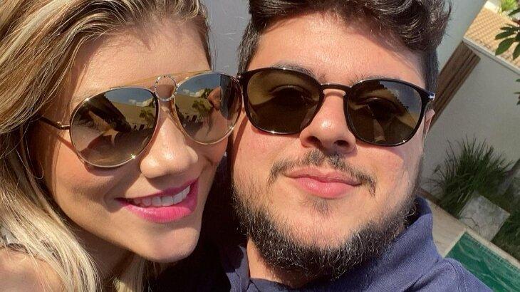 Cristiano fazendo selfie com a mulher, Paula Vaccari