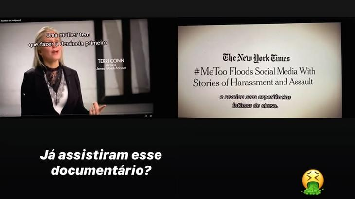 Após Melhem deixar Globo, Calabresa cita série sobre assédio