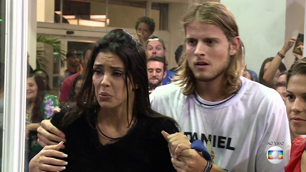 """Daniel culpa público por \""""tempo\"""" com Marcela: \""""É muito julgamento\"""""""