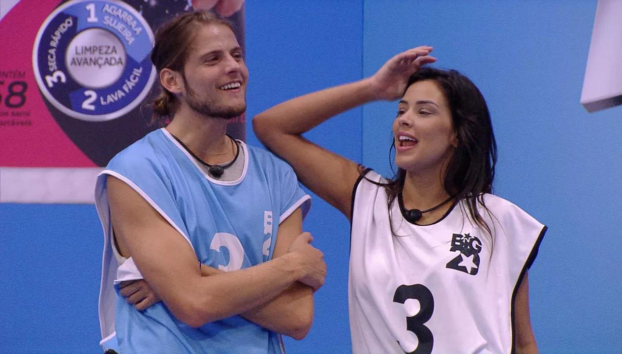 Daniel e Ivy são os anjos da semana no BBB20