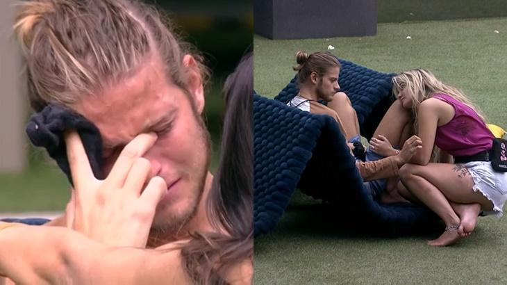 Daniel e Marcela conversam no BBB20