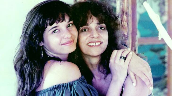 Daniella Perez e Glória Perez