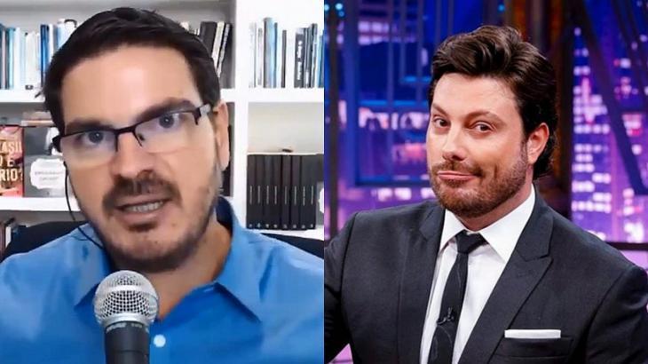 "Danilo Gentili zomba de Rodrigo Constantino: \""Seu Barriga do Bolsonarismo\"""