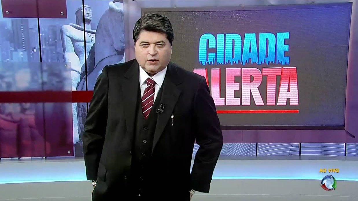 José Luiz Datena no último Cidade Alerta