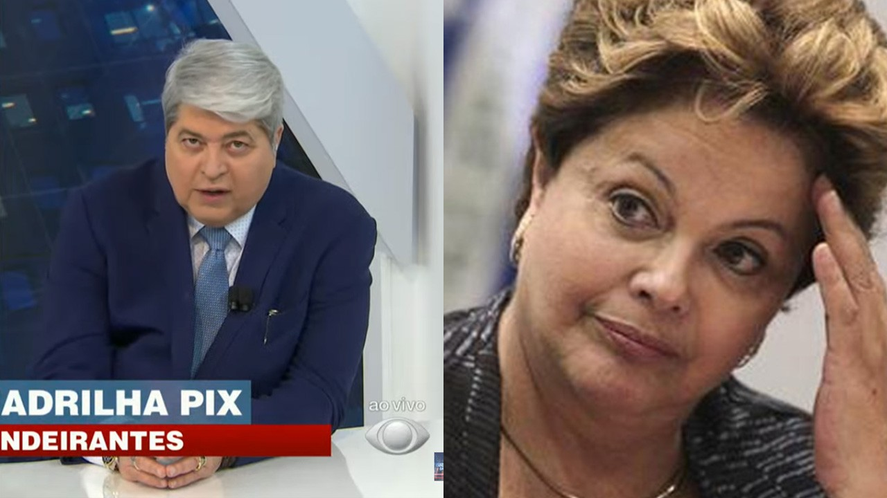 Datena no Brasil Urgente; Dila Rousseff preocupada