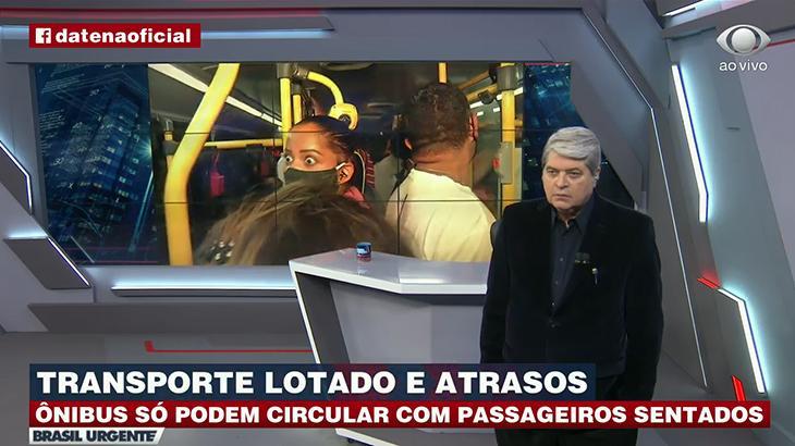 "Mulher grita ""Fora, Bolsonaro"" no Brasil Urgente"