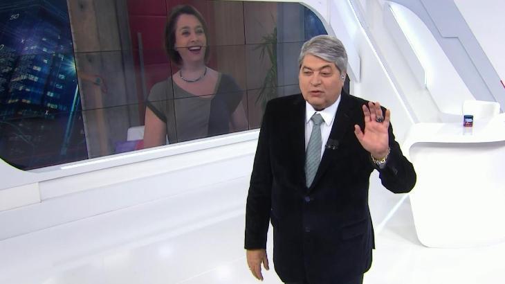 Cátia Fonseca e Datena
