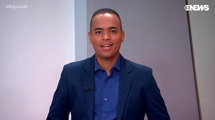 Diego Sarza na época da GloboNews