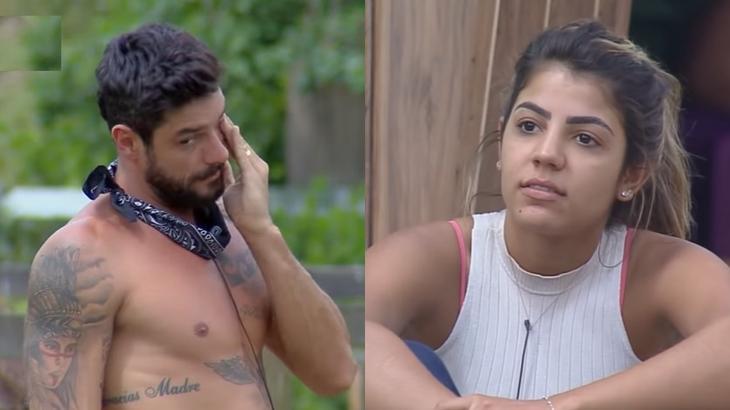 Diego Grossi criticou a postura de Hariany Almeida no reality show A Fazenda 2019
