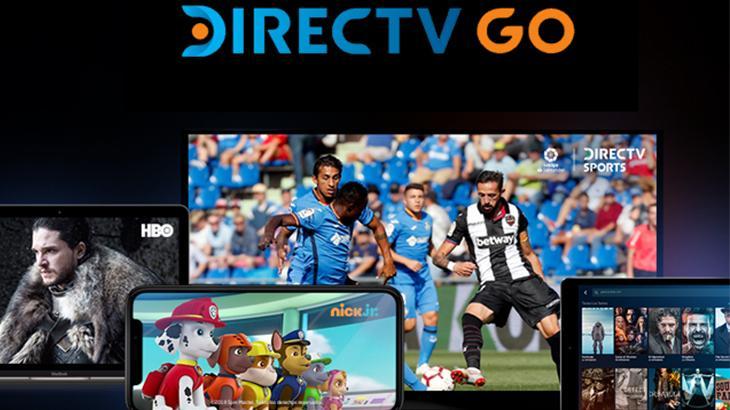 Tela do DirecTV GO