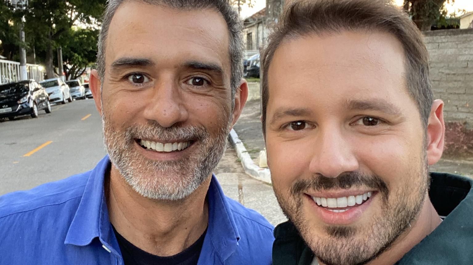 Dony De Nuccio estreia no SBT e revela os bastidores do Te Devo Essa Brasil