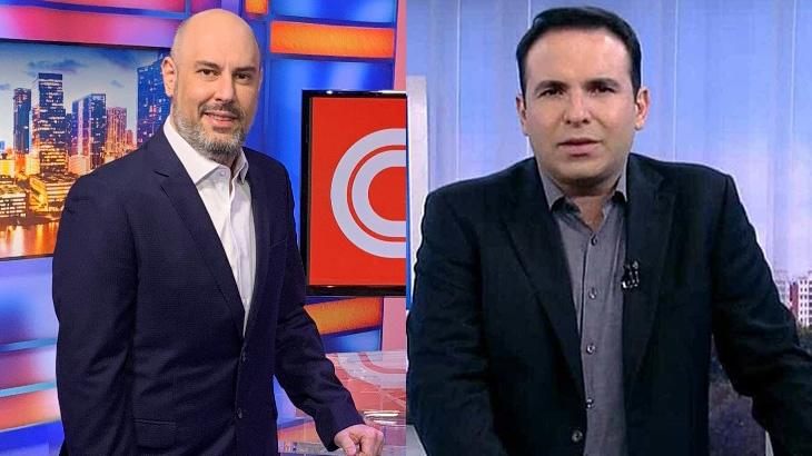 Douglas Tavolaro e Reinaldo Gottino
