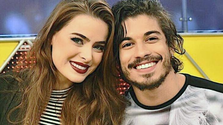 Douglas Sampaio assume novo namoro com jovem parecida com sua ex, Rayanne Morais