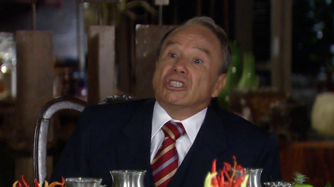 Stênio Garcia como Barretão em cena da novela Duas Caras, de volta no Globoplay