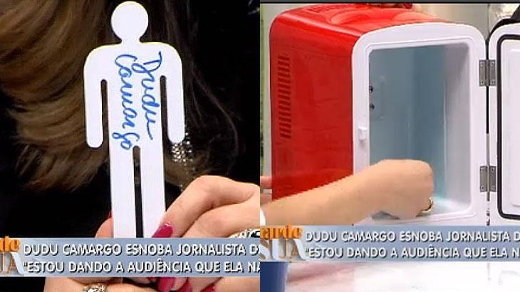 Após detonar Joyce Ribeiro, Dudu Camargo vai para a geladeira de Sonia Abrão