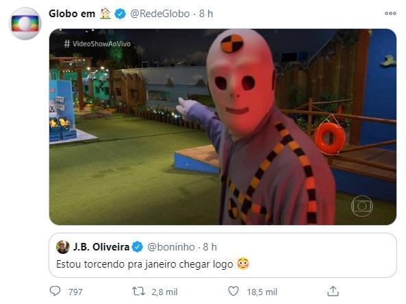 """Boninho cutuca A Fazenda e revela ansiedade por BBB21: \""""Torcendo para chegar logo\"""""""