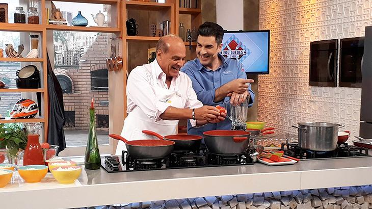 """Edu Guedes sobre a carreira na TV: \""""Fui me ajustando às oportunidades que eu tive\"""""""