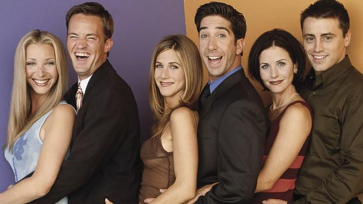 Protagonistas de Friends