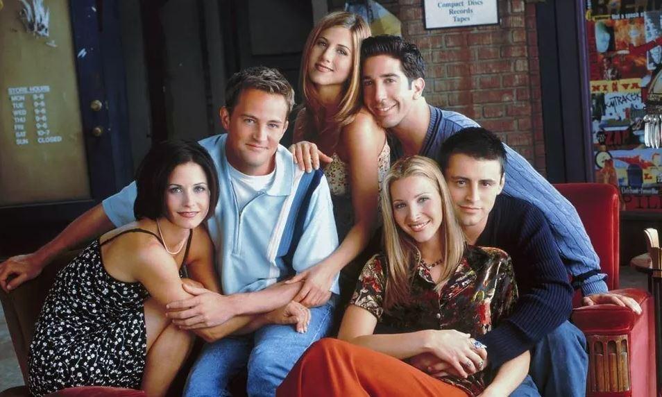 Foto do elenco de Friends