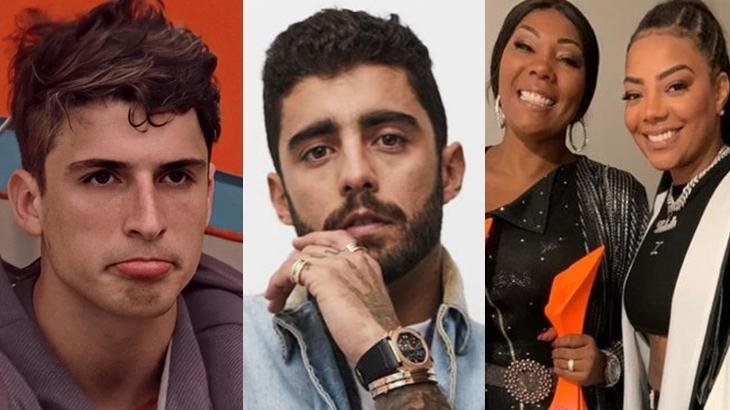 Felipe Prior, Pedro Scooby, Silvana Oliveira e Ludmilla