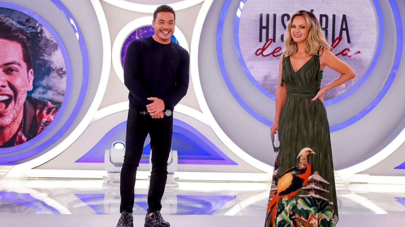 """Wesley Safadão vai às lágrimas em \""""homenagem mais emocionante da TV\"""" feita por Eliana"""