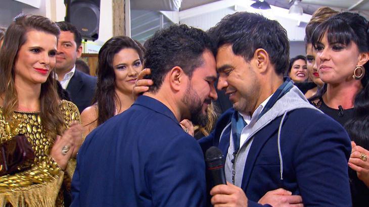 """Programa \""""Eliana\"""" prepara festa surpresa e homenagens a Zezé Di Camargo"""