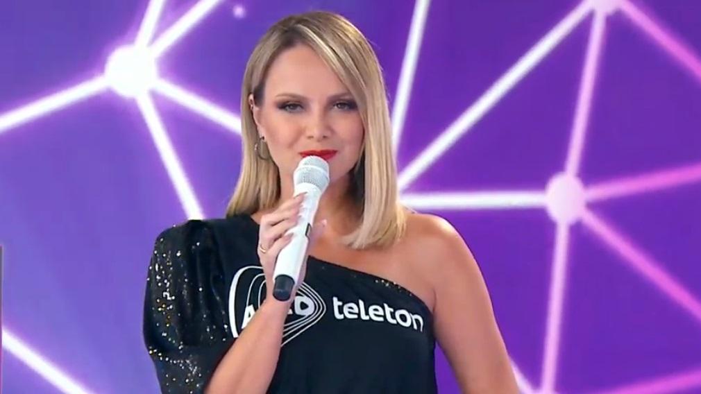 Eliana fala sobre sua experiência com coronavírus no palco do Teleton 2020
