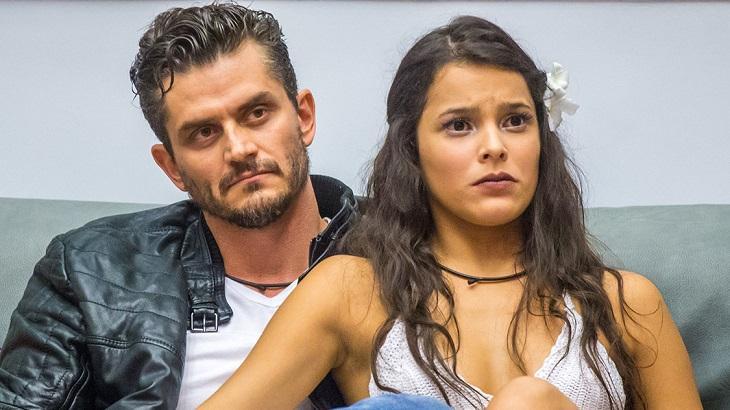 Emilly Araújo e Marcos Harter